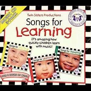 Twin Sisters Productions: Songs for Learning CDs